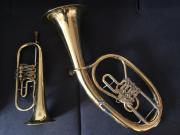 Tenorhorn und Flügelhorn