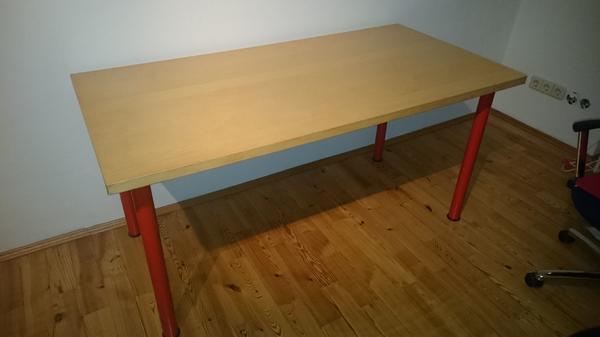 tisch in birke optik 150 cm x 75 cm in m nchen ikea. Black Bedroom Furniture Sets. Home Design Ideas