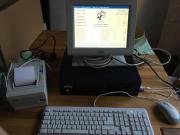 Touchscreen Kassensystem von