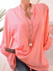 Tunika Bluse Fischerhemd