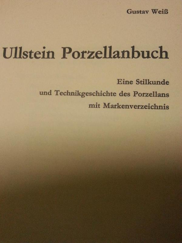 Ullstein Porzellanbuch