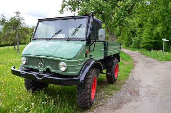 unimog 406 cabrio in althengstett traktoren. Black Bedroom Furniture Sets. Home Design Ideas