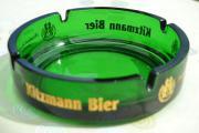 Verkaufe Aschenbecher Kitzmann Bier - Grünglas