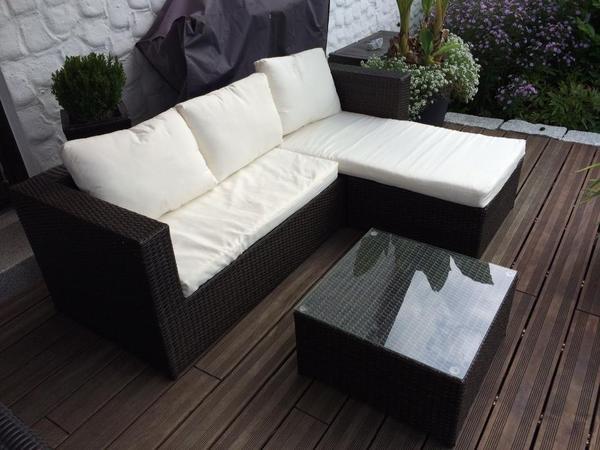 Ehrfürchtige Gartenmöbel Sitzecke