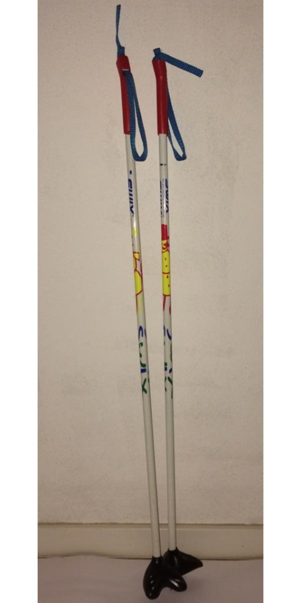 Verkaufe Kinder-Langlaufstöcke Swix 85 cm - Herzogenaurach - Verkaufe Kinder-Langlaufstöcke (nordisch) Swix 85 cm, mit Glasfaser-Schaft, sehr guter Zustand, FP 5,- - Herzogenaurach
