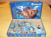 verkaufe Playmobile Puzzle Piratenschiff