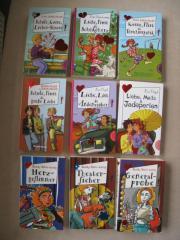 Verschiedene Freche Mädchen Bücher