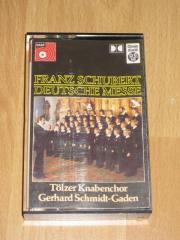 Verschiedene Musikkassetten aus