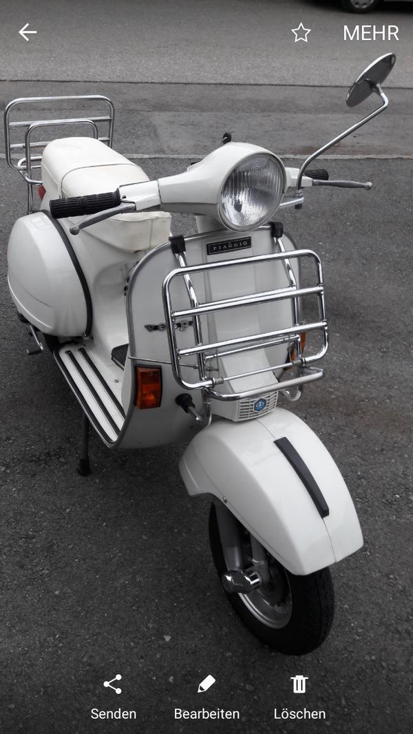 vespa 200 zu verkaufen in lochau motorrad roller teile kaufen und verkaufen ber private. Black Bedroom Furniture Sets. Home Design Ideas