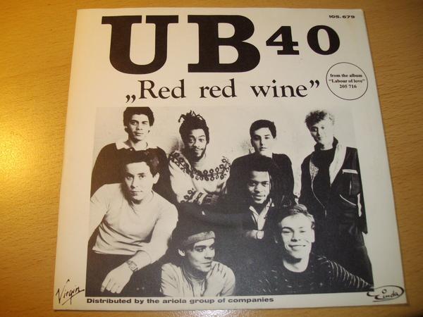 VINYL, SINGLE, - UB40 -von 1983, Zustand gut, - RED RED WINE -, sammeln - Lüneburg Schützenplatz - Verkaufe die original Vinyl Single von: UB 40 von 1983 !! ( von VIRGIN ))TITEL: RED RED WINE + SUFFERIN( I WANT PEOPLE ) Zustand der Platte: GUT!! Wahrscheinlich ungespielt. Das Cover ist vorhanden,siehe Bilder. Die Scheibe ist  - Lüneburg Schützenplatz