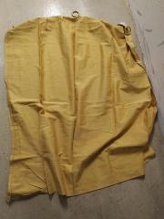 Vorhang WEISS Vorhang Ring Gelb