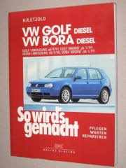 VW-Golf IV Bora Reparaturbuch So
