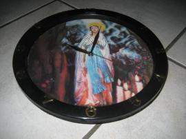 Uhren - Wanduhr mit Hologramm Schlafzimmeruhr Maria