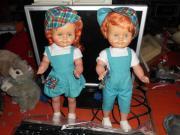 Wehncke Puppen Paar alt