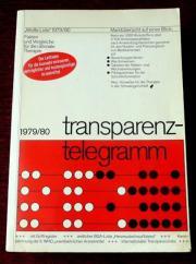 Weiße Liste - Transparenztelegramm 1979 1980