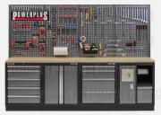 Werkstatt Set mit Multiplexplatte Lochwand