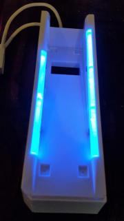 Wii Spiele Konsole Ständer Beleuchtet