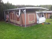 Wohnwagenschutzdach / Doppelschutzdach