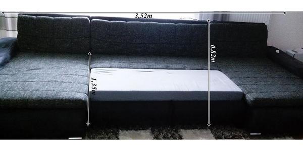 wohnzimmer sofa mit schlaffunktion – progo