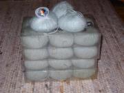 Wolle - Angora - silber (