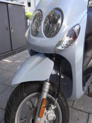 Yamaha Type SA40 mit Inspektionheft