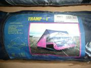 Zelte und Schlafsäcke